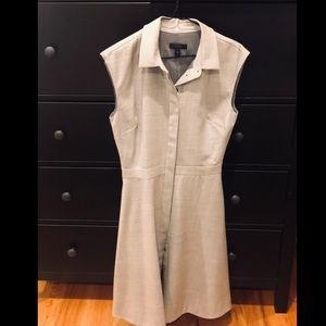 J. Crew A-line Gray Dress